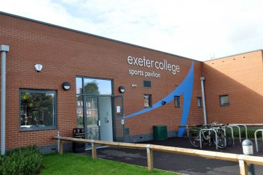 EXETER COLLEGE - SPORTS HUB