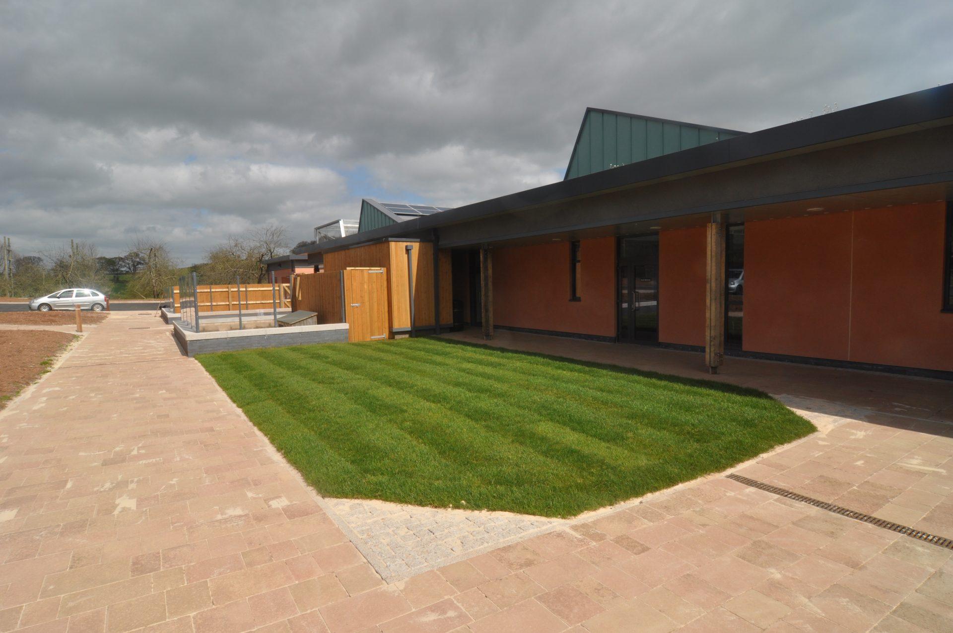 Animal Husbandry Centre Bicton College Devon Contractors