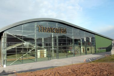 THE JUBILEE BUILDING, THATCHERS CIDER