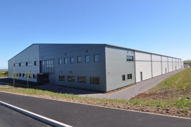 Forthglade factory Ariel shot